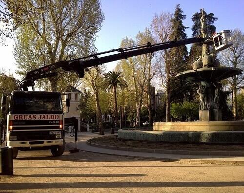 Camión Cesta en Granada