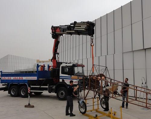 Alquilar camión grúa Granada