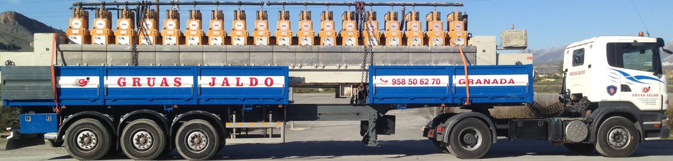 Camión modular grúas jaldo