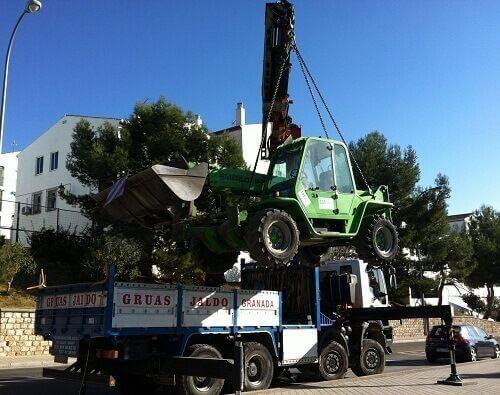 Trabajo de Camión Grúa