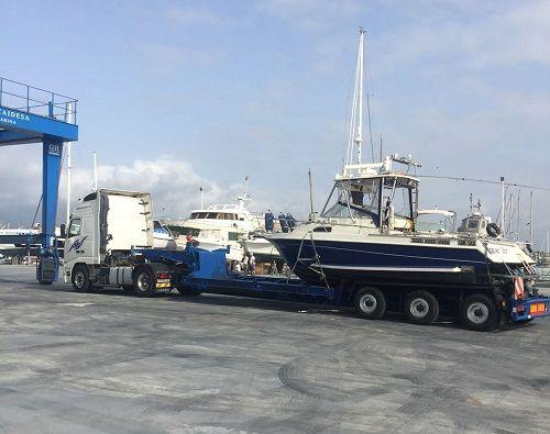 Transporte de barco en Málaga