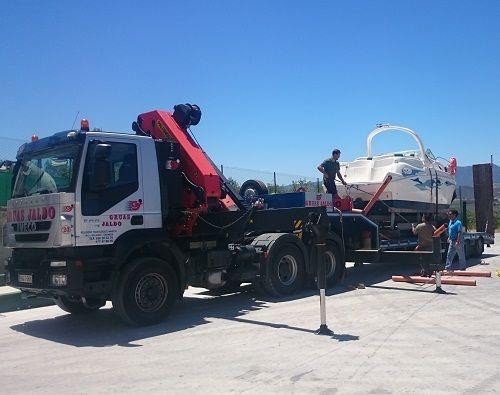 Transporte Lancha Almería