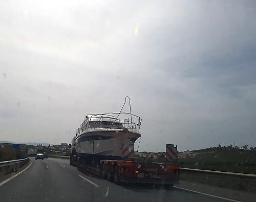 transporte de barcos en Granada