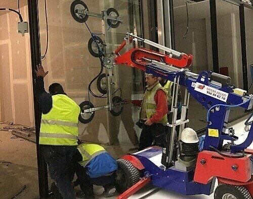 robots cristalero malaga