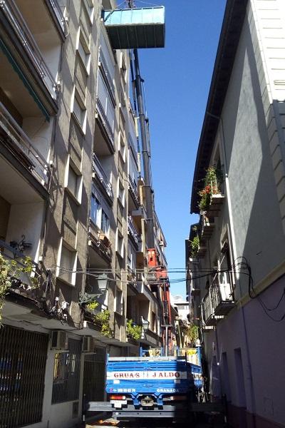 sacar escombros en Granada