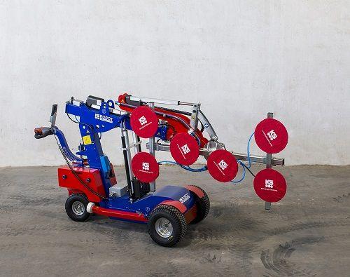 robot de acristalamiento